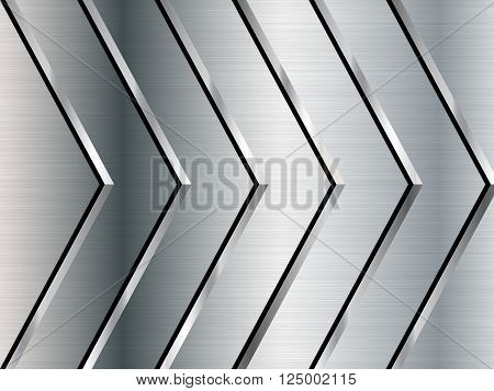 Metal texture background, Stainless steel, Vector illustration EPS10