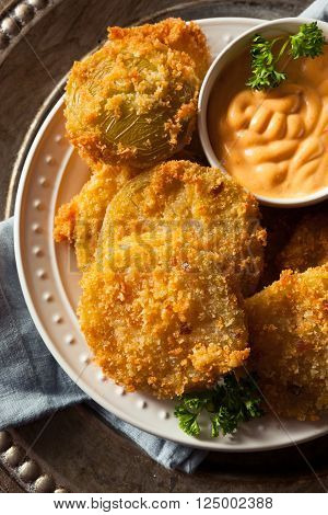 Homemade Fried Green Tomatoes