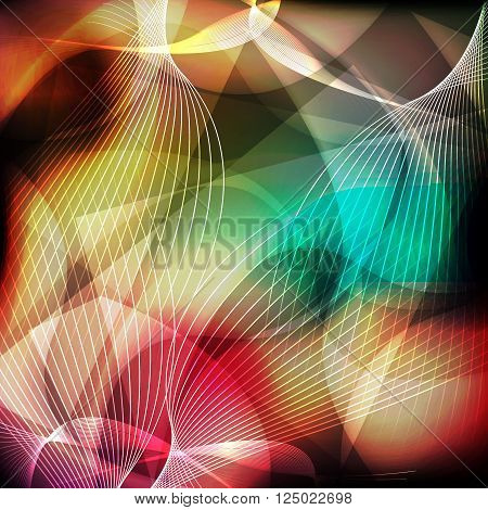 line abstract background for decorate your style