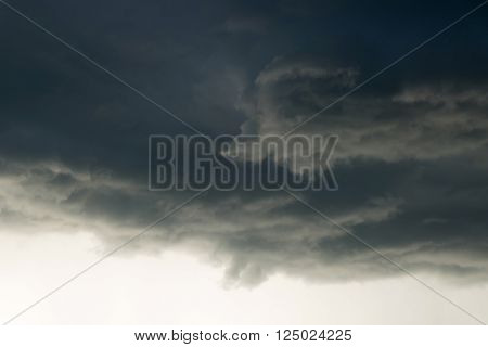 heavy rain storm clouds thunderstorm dramatic sky bad day weather background