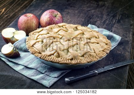 Apple-Pie in Backing Form