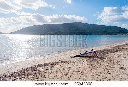 Landscape Of Mugoni Beach Sardinia