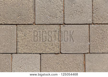 architecture, brickwork and exterior concept - close up of brick or stone wall outdoors
