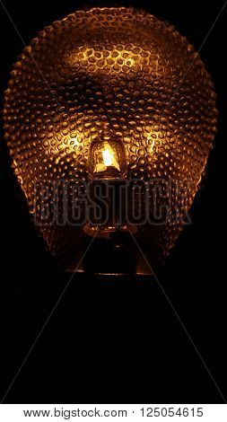 This leading lightbulb expresses perfectly the idea of a lightbulb using a low-light snap to ilustrate prefectly the details of the lightbulb