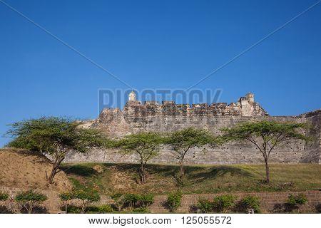San Felipe Castle in Cartagena de Indias