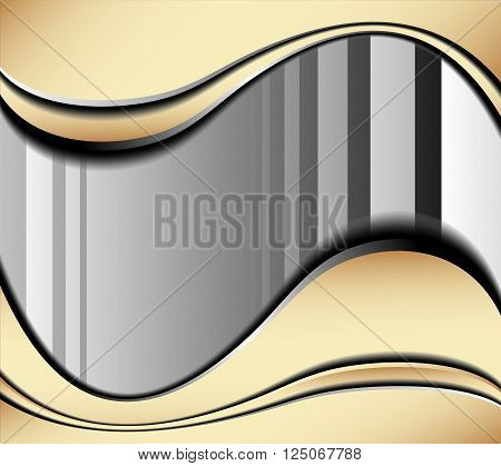 background curve line on black background space shadow overlap and dimension modern texture pattern for text and message website design