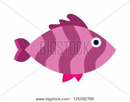 Aquarium underwater fish and marine aquarium blue fish. Wildlife tropical sea aquarium fish, colorful ocean aquarium blue exotic fish. Blue discus fish aquarium underwater nature animal vector. Fish vector, fish icon