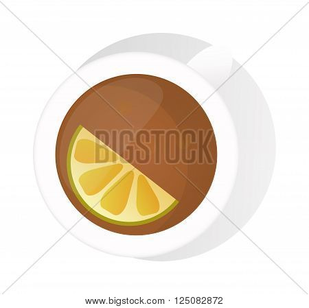 Chinese tea vector tea cup isolated on white. Traditional eastern tea cup on white background. Tea time vector icon. Tea cup for tea drink time. Vector cute tea cup. Traditional tea cup isolated on white
