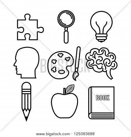 brain storming design, vector illustration eps10 graphic