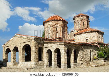Ancient Saint Naum Monastery at south-west of Macedonia (FYROM) former Yugoslavia