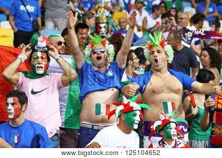 Italy National Football Team Supporters