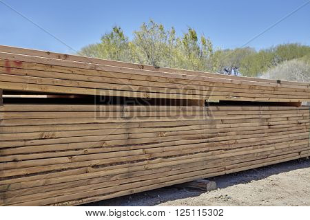 Wood Fir Pine Boards Lumbar Yard Ready For Building Industry