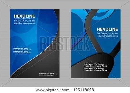 booklet design template booklet design template vector template design