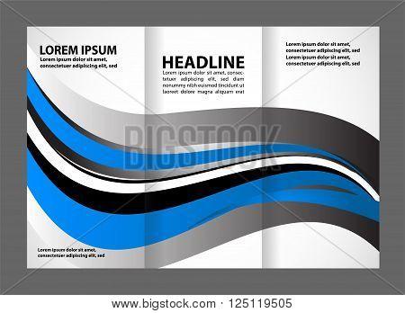 Brochure folder leaflet Brochure folder leaflet vector template design