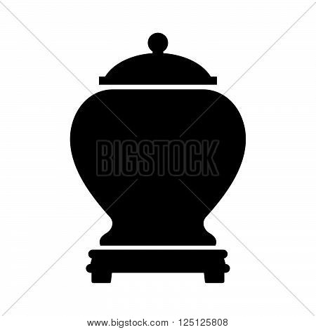 Urn for ashes ( shade picture )