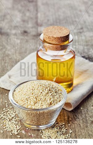 Sesame Seed Oil And Sesame Seeds