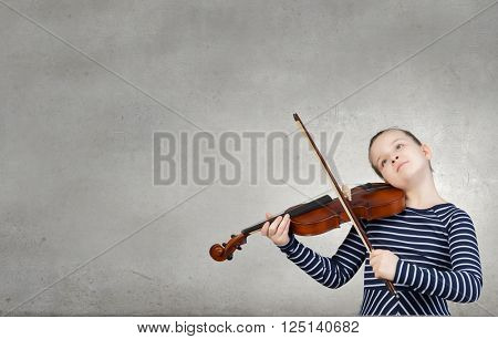 Little violin player