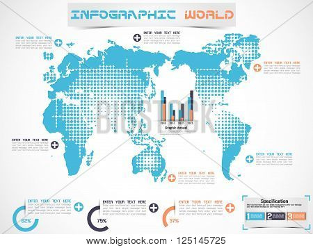 INFOGRAPHIC WORLD MODERN EDITION for web and other