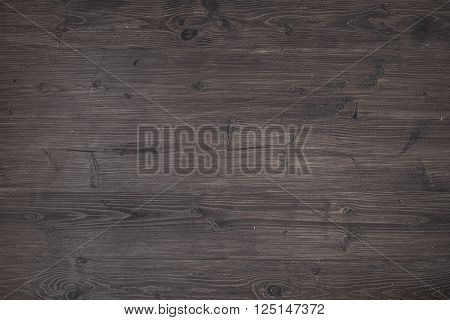 Dark wooden texture. Vintage rustic style. Natural surface, background and wallpaper