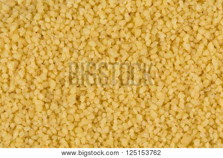 Couscous As Background Texture