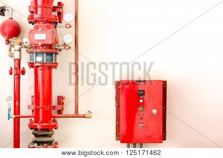 Controller and tube of water sprinkler and fire fighting system