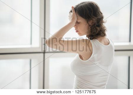 Young Woman Feeling Ill