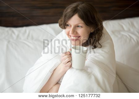 Young Woman Enjoying Her Morning