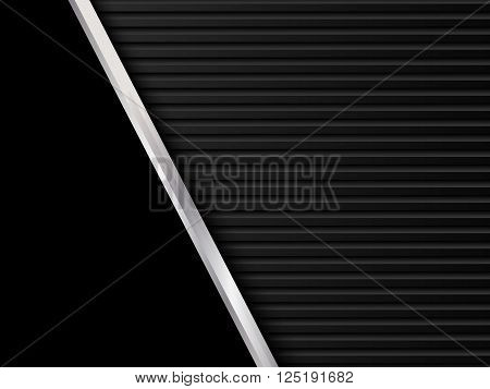 Black metal backgrounds, Abstract vector illustration EPS10