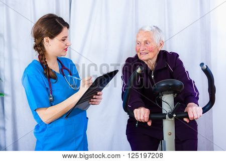 Senior Woman Still Young At Heart