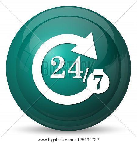 24/7 Icon