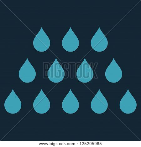 Drops vector icon. Drops icon symbol. Drops icon image. Drops icon picture. Drops pictogram. Flat blue drops icon. Isolated drops icon graphic. Drops icon illustration.