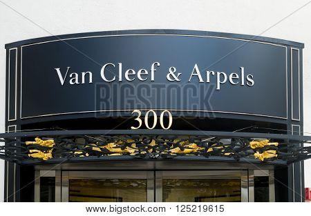 Van Cleef & Arpels Retail Store Exterior