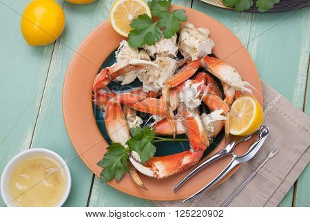 Crab Legs Appetizer