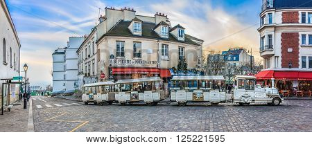 Paris France - January 20 2015: The