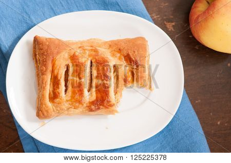 puff pastry apple pastry turnovers for dessert ** Note: Soft Focus at 100%, best at smaller sizes