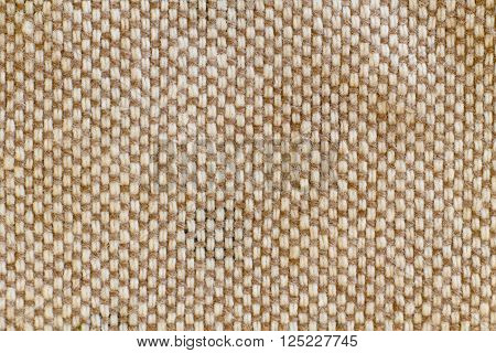 close - up of fabric background texture