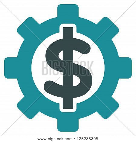 Financial Options vector icon. Financial Options icon symbol. Financial Options icon image. Financial Options icon picture. Financial Options pictogram. Flat soft blue financial options icon.