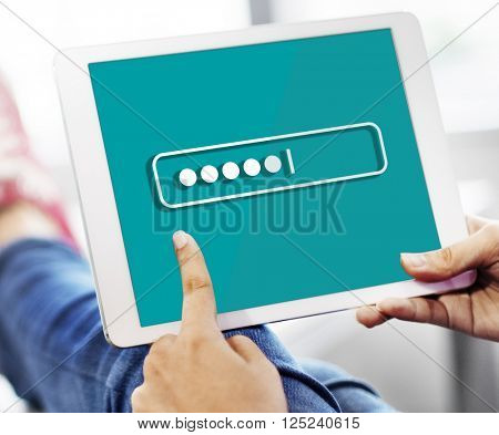Password Security Login Technology Business Concept