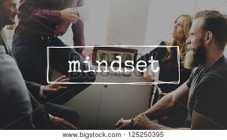 Mindset Attitude Positive Thinking Mental Concept
