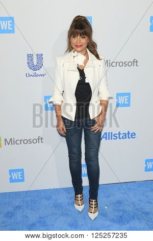 LOS ANGELES - APR 7:  Paula Abdul at the WE Day California 2016 at the The Forum on April 7, 2016 in Inglewood, CA