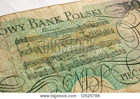 Polonesa billete