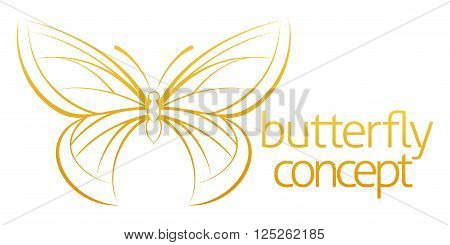 Butterfly Abstract Concept