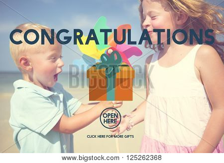 Congratulations Celebration Congrats Greeting Concept