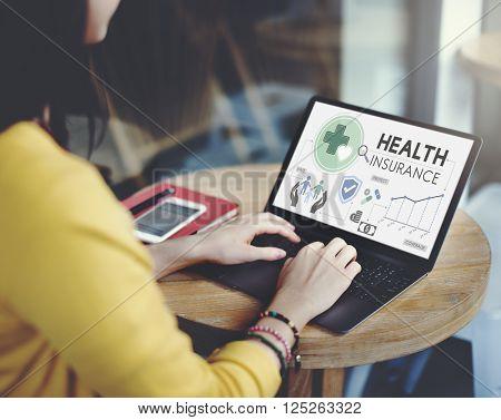 Health Insurance Assurace Medical Risk Safety Concept