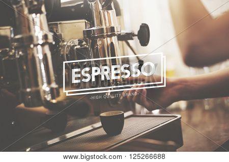 Espresso Coffee Caffeine Cappuccino Delicious Concept