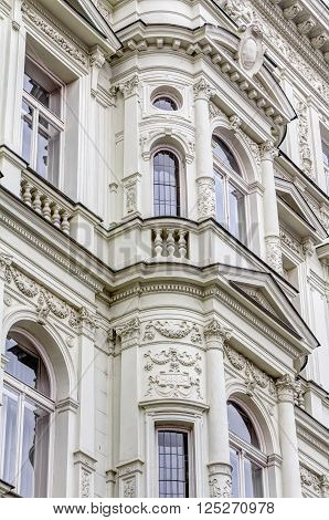 Residential Buildings In The Art-nouveau Style