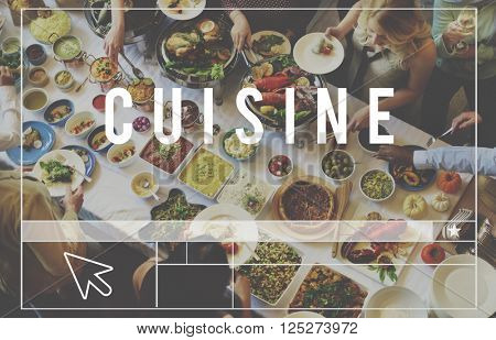 Cuisine Restaurant Kitchen Cafe Food Concept