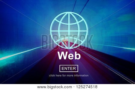 Web Hosting Development Connection Networking Concept