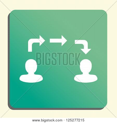 Information Exchange Icon In Vector Format. Premium Quality Information Exchange. Web Graphic Inform