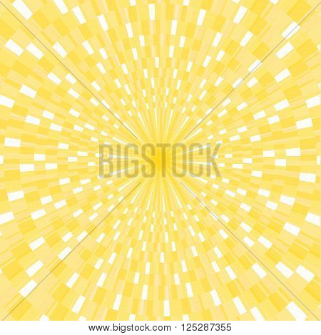 Sun rays vector Background, illustration with rectangles